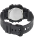 Casio Men's Sport AQS810W-8AV Black Rubber Quartz Watch - Back Image Swatch