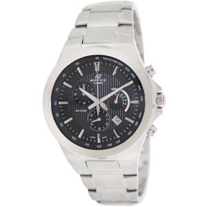 Casio Men's Edifice EFR500D-1AV Silver Stainless-Steel Analog Quartz Watch