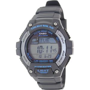 Casio Men's Sport WS220-8AV Grey Black Rubber Quartz Watch