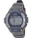 Casio Men's Sport WS220-8AV Grey Black Rubber Quartz Watch - Main Image Swatch