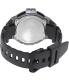 Casio Men's Sport WS220-8AV Grey Black Rubber Quartz Watch - Back Image Swatch