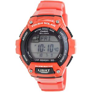 Casio Men's Sport WS220C-4AV Red Plastic Quartz Watch