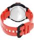 Casio Men's Sport WS220C-4AV Red Plastic Quartz Watch - Back Image Swatch