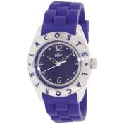 Lacoste Women's Biarritz 2000750 Purple Silicone Analog Quartz Watch