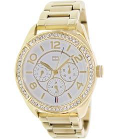Tommy Hilfiger Women's 1781253 White Stainless-Steel Analog Quartz Watch