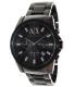 Armani Exchange Men's AX2093 Black Stainless-Steel Quartz Watch - Main Image Swatch