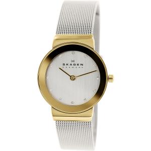 Skagen Women's 358SGSCD Silver Stainless-Steel Quartz Watch
