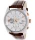 Kenneth Cole Men's Dress Sport KC8042 Brown Leather Quartz Watch - Main Image Swatch
