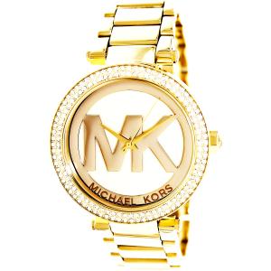 Michael Kors Women's Parker MK5784 Gold Stainless-Steel Quartz Watch