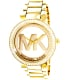 Michael Kors Women's Parker MK5784 Gold Stainless-Steel Quartz Watch - Main Image Swatch