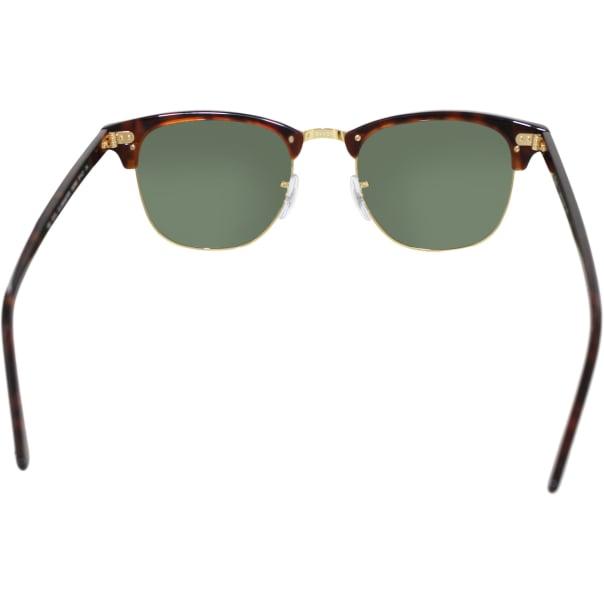 Rimless Clubmaster Glasses : Ray-Ban Mens Clubmaster RB3016-W0366-51 Tortoiseshell ...
