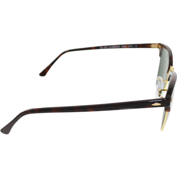 Rimless Clubmaster Glasses : Ray-Ban Mens Clubmaster RB3016-W0366-51 Tortoiseshell ...