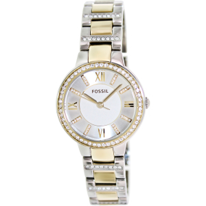 Fossil Women's Virginia ES3503 Silver Stainless-Steel Quartz Watch