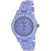 Geneva Platinum Women's 2302.LAVENDER Purple Plastic Quartz Watch