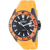 Swiss Military Hanowa Men's Ranger 06-4211-27-007-79 Black Silicone Swiss Quartz Watch