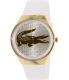 Lacoste Women's Valencia 2000807 White Silicone Analog Quartz Watch - Main Image Swatch