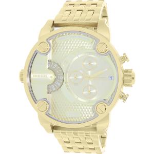 Diesel Men's Little Daddy DZ7287 Gold Stainless-Steel Quartz Watch