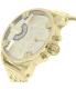 Diesel Men's Little Daddy DZ7287 Gold Stainless-Steel Quartz Watch - Side Image Swatch