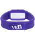 Verb Men's VRB006 Purple Silicone Quartz Watch - Back Image Swatch