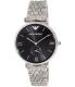 Emporio Armani Men's Retro AR1676 Silver Stainless-Steel Quartz Watch - Main Image Swatch