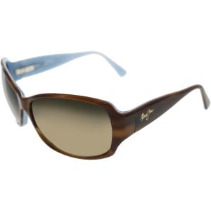 Maui Jim Women's Nalani HS295-03T Brown Butterfly Sunglasses