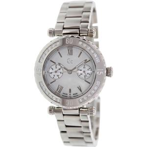 Guess Men's X42107L1S Silver Stainless-Steel Swiss Quartz Watch