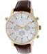 Tommy Hilfiger Men's 1790874 Silver Leather Analog Quartz Watch - Main Image Swatch