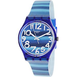 Swatch Women's Originals GN237 Blue Plastic Swiss Quartz Watch