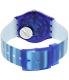 Swatch Women's Originals GN237 Blue Plastic Swiss Quartz Watch - Back Image Swatch