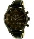 Hugo Boss Men's 1512567 Black Leather Analog Quartz Watch - Main Image Swatch