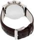 Hugo Boss Men's 1512570 Grey Leather Analog Quartz Watch - Back Image Swatch