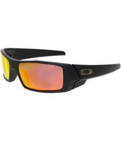 Oakley Men's Mirrored Gascan 26-246 Black Wrap Sunglasses