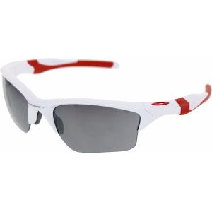Oakley Men's Half Jacket 2.0 Xl OO9154-23 White Wrap Sunglasses