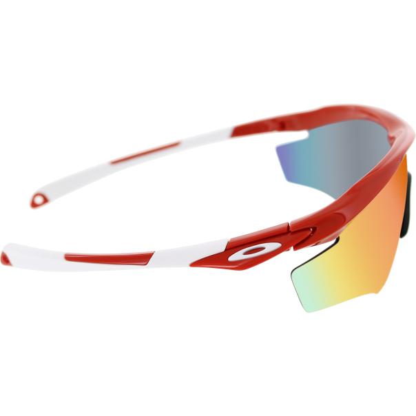 oakley men 39 s mirrored m2 oo9212 12 red wrap sunglasses. Black Bedroom Furniture Sets. Home Design Ideas