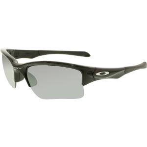 Oakley Boy's Quarter Jacket OO9200-01 Black Semi-Rimless Sunglasses