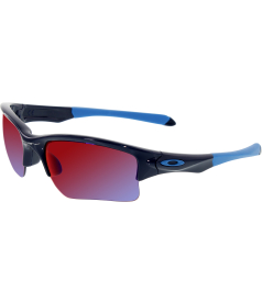 Oakley Boy's Quarter Jacket OO9200-04 Blue Semi-Rimless Sunglasses