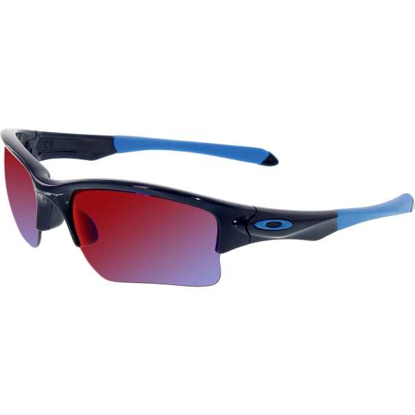 oakley boy 39 s quarter jacket oo9200 04 blue semi rimless sunglasses. Black Bedroom Furniture Sets. Home Design Ideas