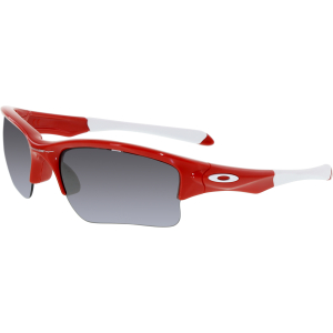 Oakley Boy's Quarter Jacket OO9200-08 Red Semi-Rimless Sunglasses
