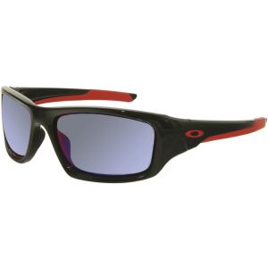 Oakley Men's Valve OO9236-02 Black Rectangle Sunglasses
