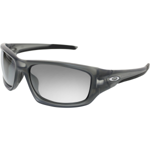 Oakley Men's Polarized Valve OO9236-06 Grey Wrap Sunglasses