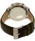 Fossil Men's Townsman FS4872 Brown Leather Quartz Watch - Back Image Swatch