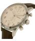 Fossil Men's Townsman FS4872 Brown Leather Quartz Watch - Side Image Swatch