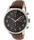 Fossil Men's Townsman FS4873 Brown Leather Quartz Watch - Main Image Swatch