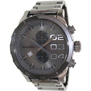 Diesel Men's Double Down DZ4314 Grey Stainless-Steel Quartz Watch