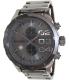 Diesel Men's Double Down DZ4314 Grey Stainless-Steel Quartz Watch - Main Image Swatch