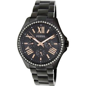 Fossil Women's Cecile AM4522 Black Stainless-Steel Quartz Watch