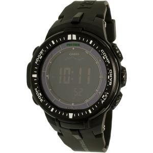 Casio Men's Protrek PRW3000-1A Black Resin Quartz Watch