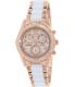 Swiss Precimax Women's Desire Elite Ceramic Diamond SP13304 Rose Gold Ceramic Swiss Chronograph Watch - Main Image Swatch