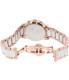 Swiss Precimax Women's Desire Elite Ceramic Diamond SP13304 Rose Gold Ceramic Swiss Chronograph Watch - Back Image Swatch
