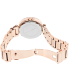 Michael Kors Women's Parker MK5865 Rose-Gold Stainless-Steel Quartz Watch - Back Image Swatch